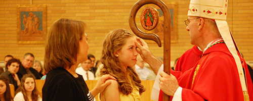 Confirmation at Saint Joseph Church