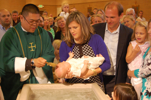 Baptism at Saint Joseph Church